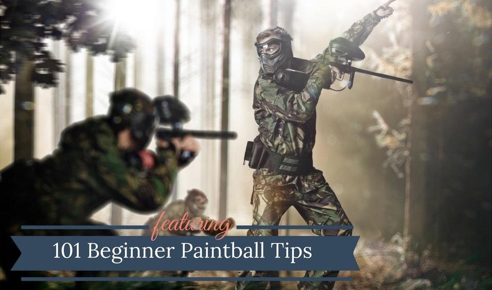 101 Beginner Paintball Tips