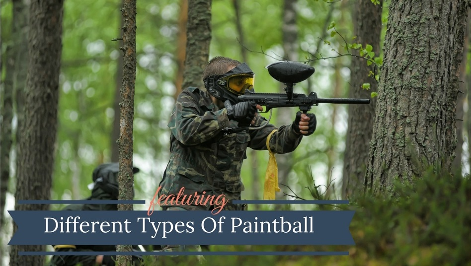 Different Types Of Paintball