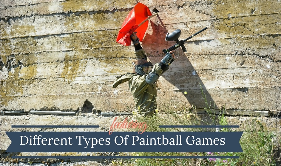 Different Types Of Paintball Games