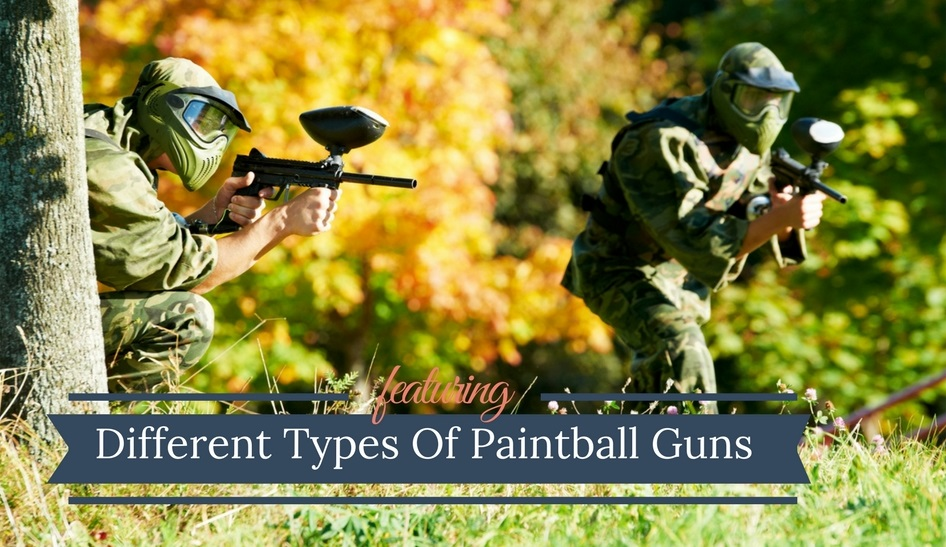 Pump vs Mechanical vs Electronic Paintball Guns
