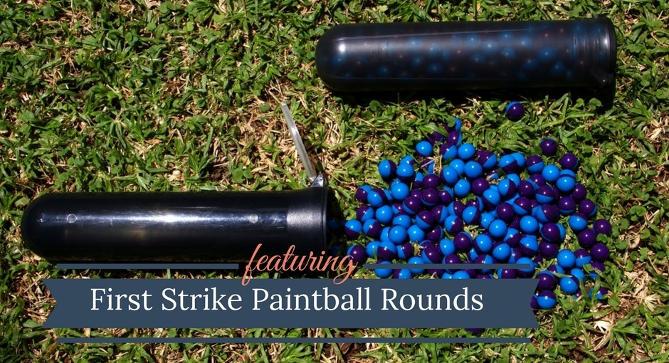 First Strike Paintball Rounds